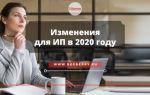 Формы налогообложения 2020