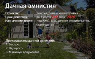 Регистрация дачных домиков и построек в 2020