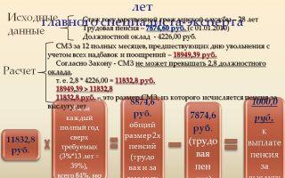 Муниципальная пенсия за выслугу лет — расчет, размер, назначение, как рассчитать, пример