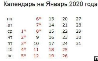оплата труда в праздничные и выходные дни в 2020 году