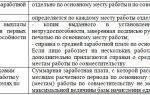 Оплата труда по совместительству (2015) — тк рф, вычеты