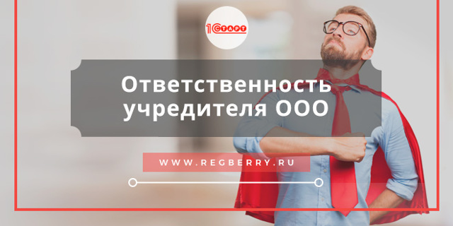 Ответственность учредителя за деятельность ООО в 2020 году