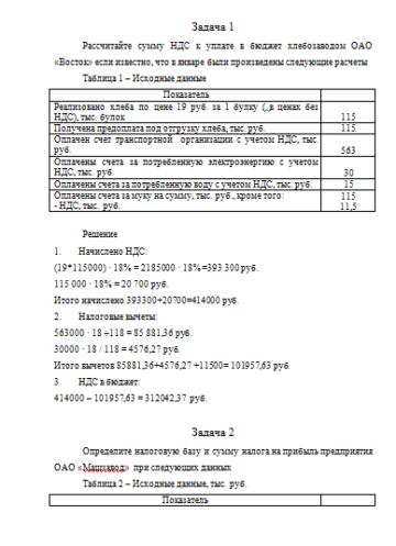 Авансовые платежи по НДФЛ, НДС В 2020 году