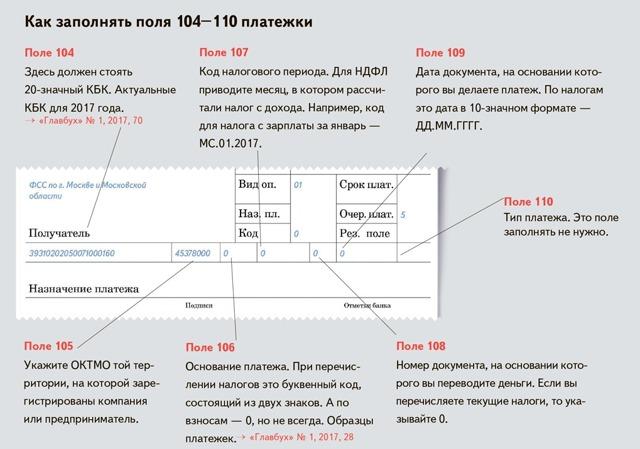 Налоговый период 107: как заполнять?